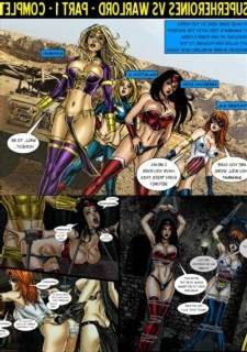 9 Superheroines vs Warlord Ch.1-
