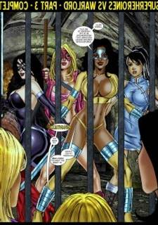 9 Superheroines vs Warlord Ch.3 - matt johnson